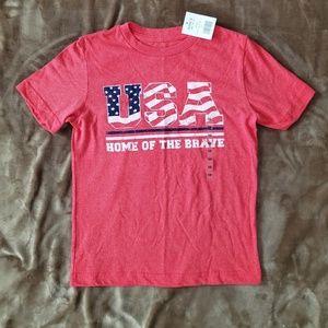 NWT Boys USA t-shirt